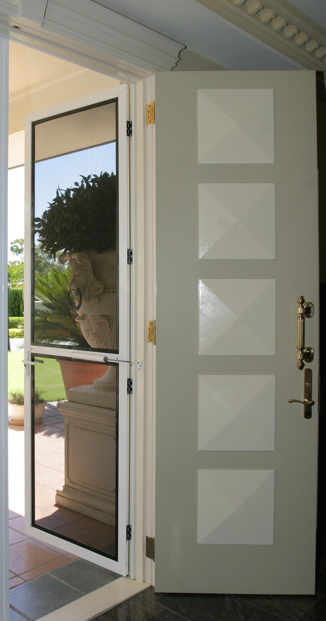 Single Hinged Door Activate Security Crimsafe Specialists Brisbane